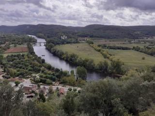 La Dordogne depuis Beynac