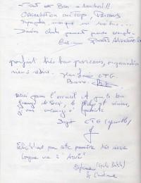 Livre d'or page 4
